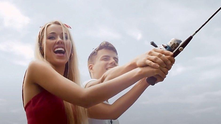 Lawson Bates The Bachelor Alum Heather Martin Get Cozy New Music Video