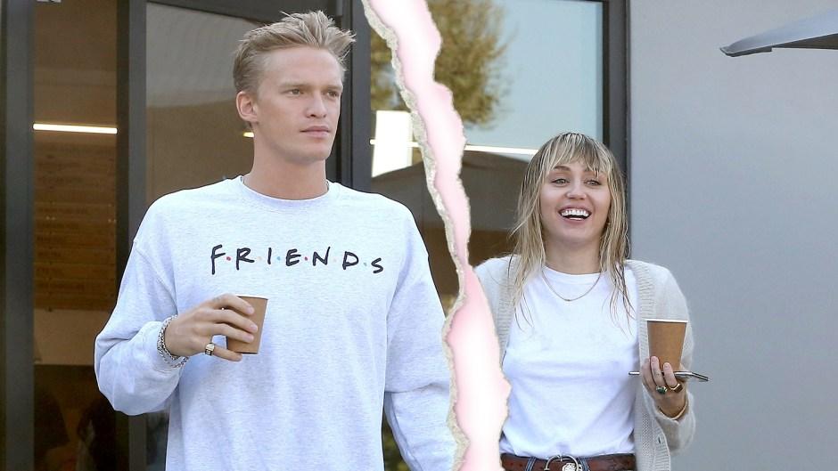 Miley Cyrus Cody Simpson Split