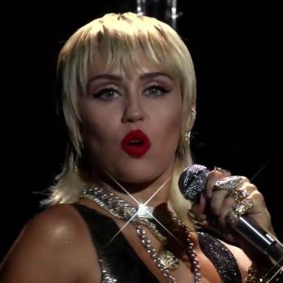 Miley Cyrus Performance 2020 VMAs Performance
