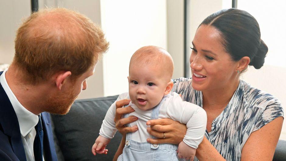 Prince Harry Son Archie Photos