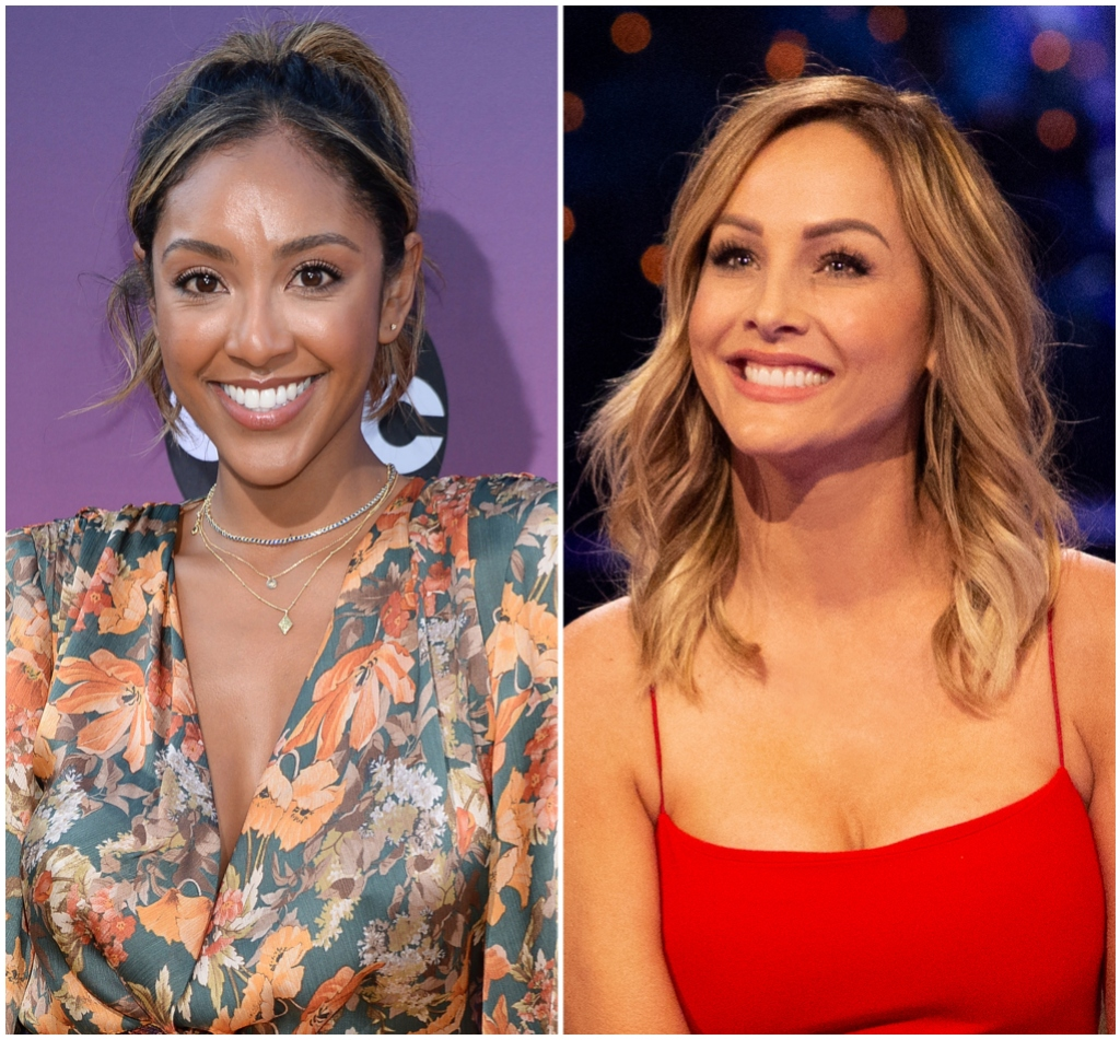 Bachelor Leaves Clue Tayshia Adams Replacing Clare Crawly Bachelorette