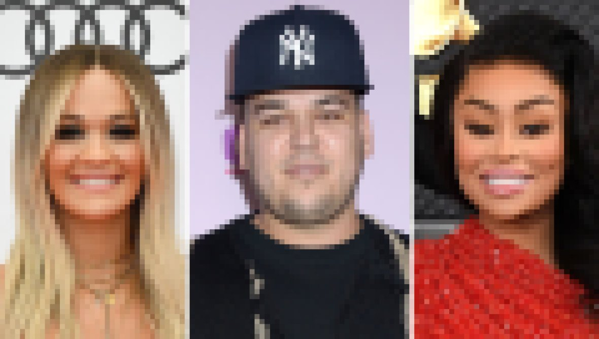 Rob Kardashian Relationship History