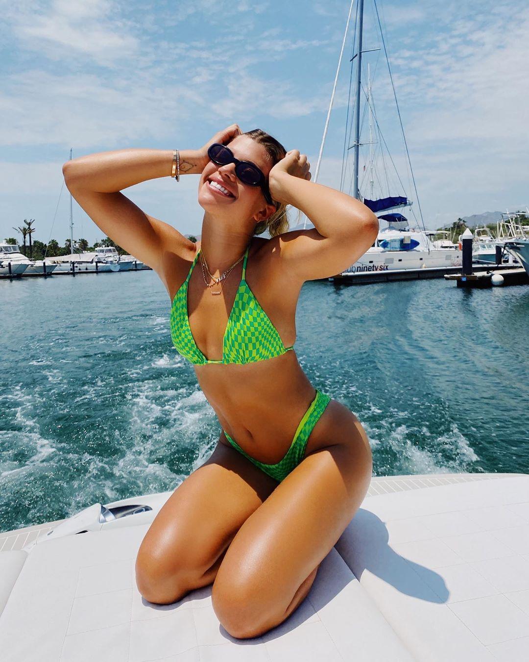 Sofia Richie is All Smiles in a Bikini Following Scott Disick Split