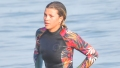 Sofia Richie Goes Paddleboarding in Malibu