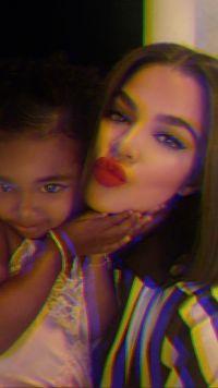 True Thompson Cutest Moments Mom Khloe Kardashian With Brown Hair