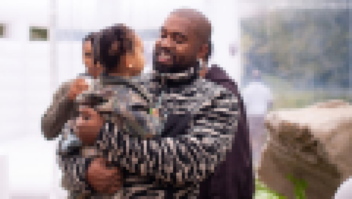 Kanye West's Cutest Photos With Kids North, Saint, Chicago and Psalm 6
