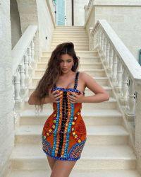 kylie-jenner-balmain-birthday-dress