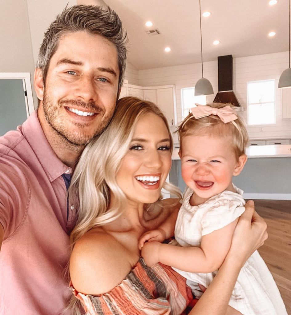 Lauren Burnham and Arie Luyendyk Jr and Daughter Alessi