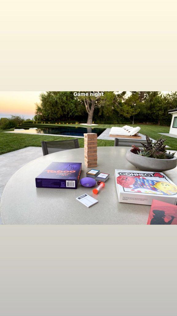 Scott Disick Shares Family Game Night With Kourtney Kardashian