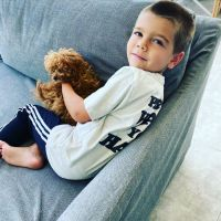 Reign Disick Cutest Moments Snuggling With Dog