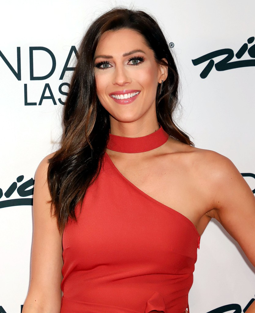 Becca Kufrin Visits Bachelorette Set Amid Tayshia Adams Stepping in for Clare Crawley