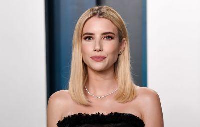 Emma Roberts at Vanity Fair Party