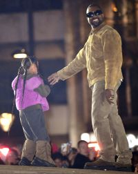 Kanye West's Cutest Photos With Kids North, Saint, Chicago and Psalm 14