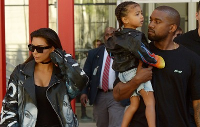 Kanye West's Cutest Photos With Kids North, Saint, Chicago and Psalm 11