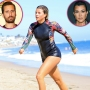Sofia Richie is all smiles as she has fun in the water with friends