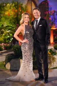 Bachelorette Clare Crawley Night 1 Dress With Chris Harrison