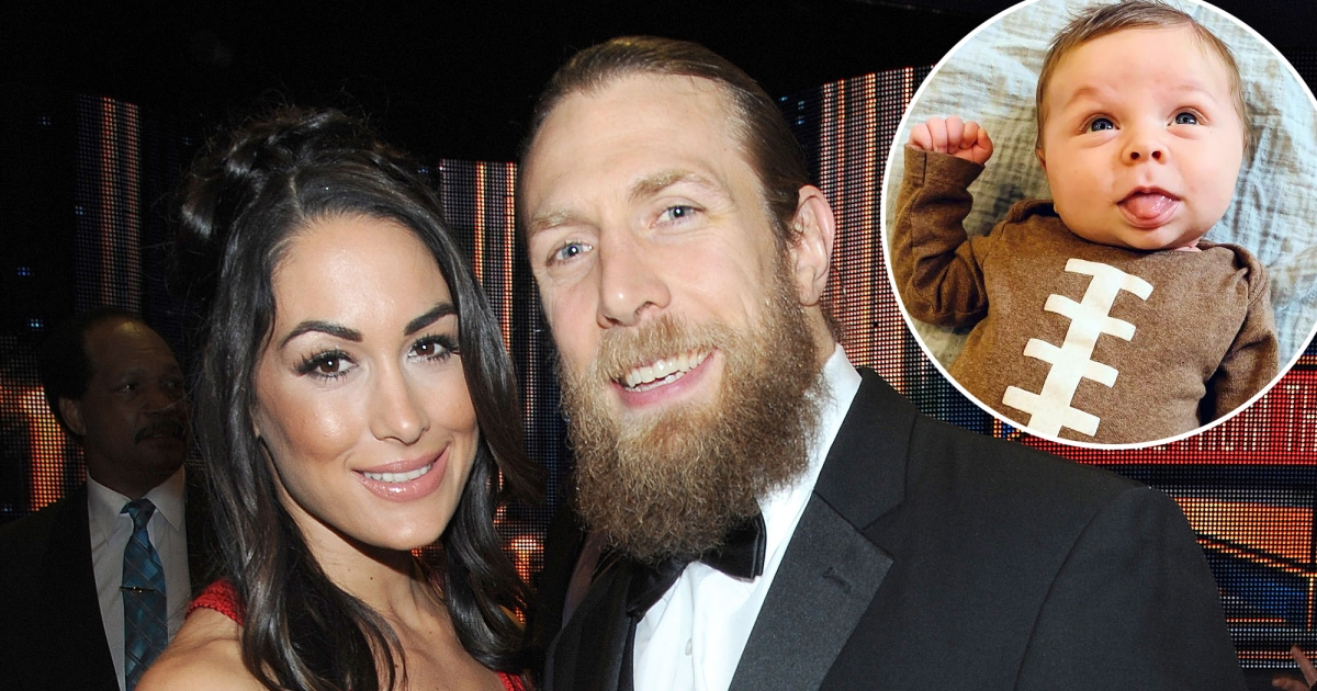 Brie Bella and Son Buddy Watch 'Dada Back in Action' on WWE Smackdown