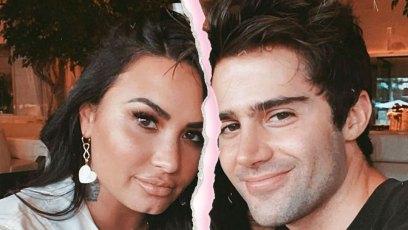 Demi Lovato and Max Ehrich Split