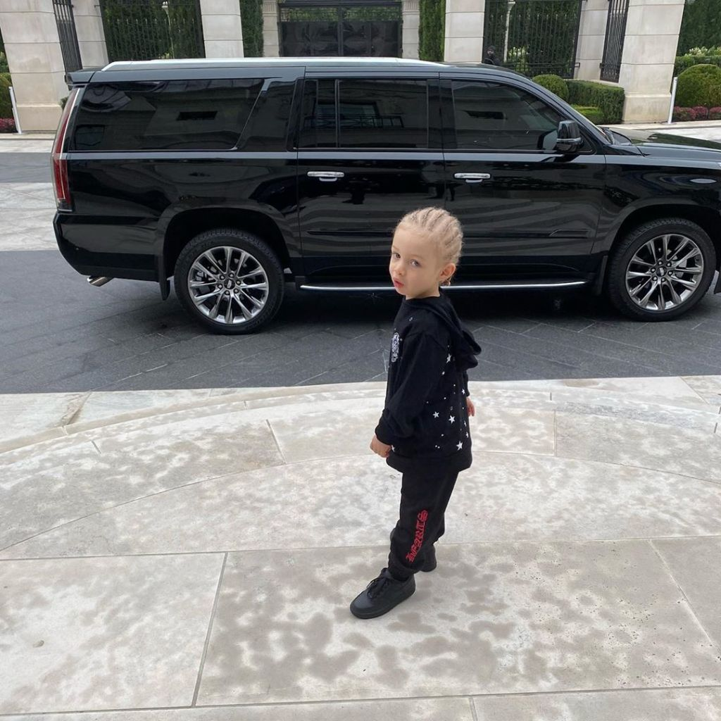 Drake Shares a Photo of His Son Adonis on His First Day of School