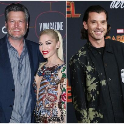Gwen Stefani Edits Blake Shelton in for Gavin Rossdale