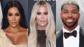 Kim Kardashian Does an Early-Morning Workout With Khloé and Tristan Thompson