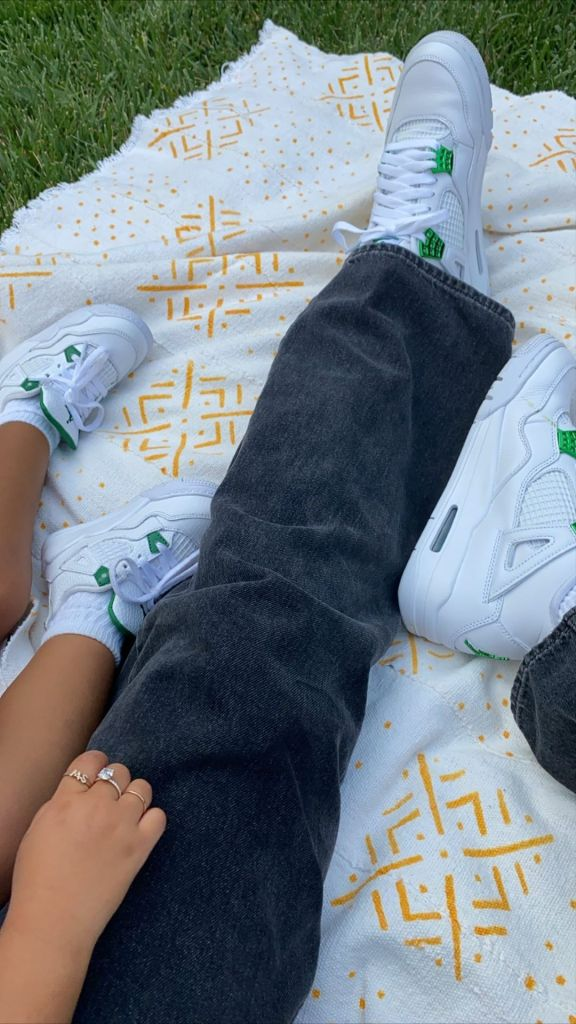 Kylie Jenner and Stormi Webster Wear Matching Sneakers