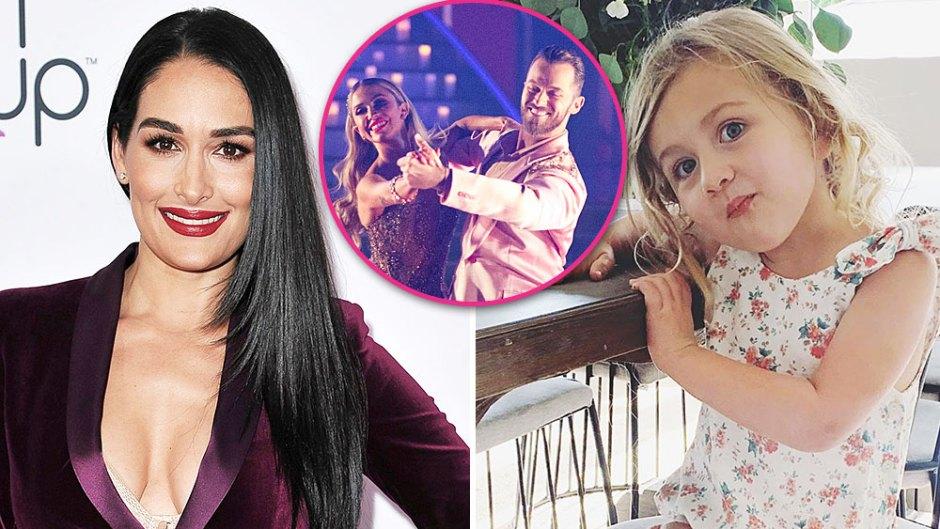 Nikki Bella Says Niece Birdie Was Bothered By Artem Chigvintsev Dancing With Kaitlyn Bristowe