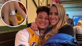 Patrick Mahomes Proposes to Girlfriend Brittany Matthews With Engagement Ring Worth Up to 800k