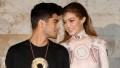 Pregnant Gigi Hadid Leaves Boyfriend Zayn Malik a Flirty Comment Ahead of Their Daughter's Birth