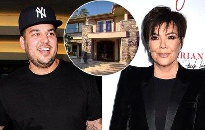 Rob Kardashian Lives Kris Jenner Old KUWTK Home Its Exactly Same