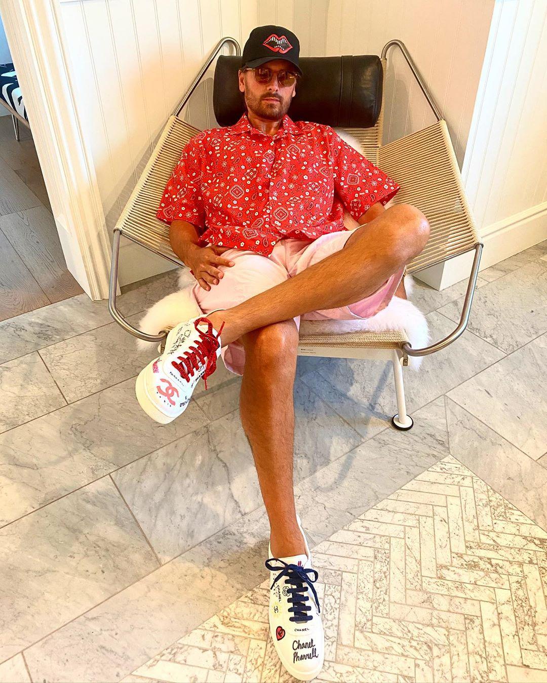 Scott Disick Chanel Sneakers