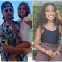 Scott Disick Hosts Pool Party for Penelope and North West