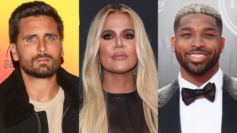 Scott Disick, Khloe Kardashian, Tristan Thompson