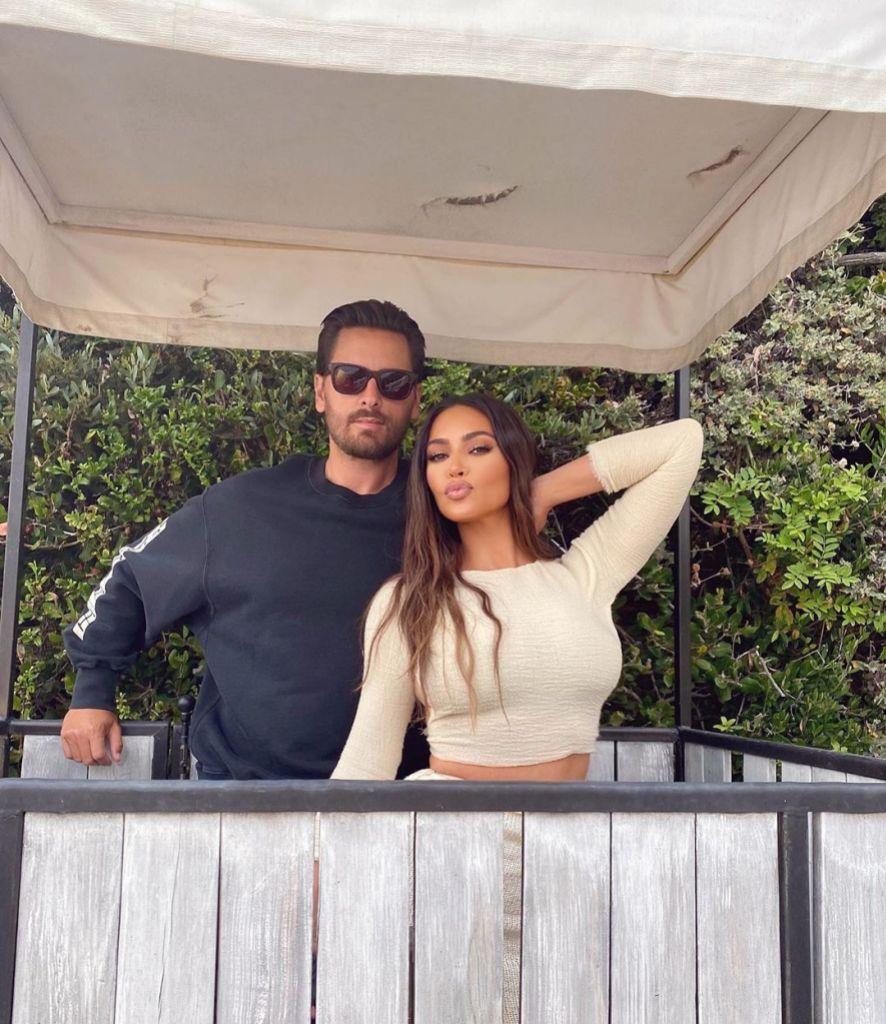 Kim Kardashian Gives Scott Disick a Sweet Shout-Out