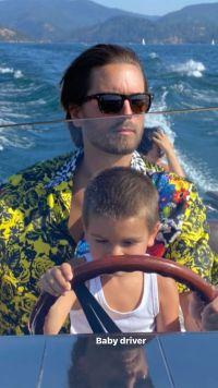 Scott and Kourtney's Boat Trip With Reign