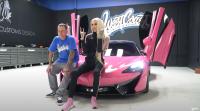 Jeffree Star Car Collection Pink McLaren