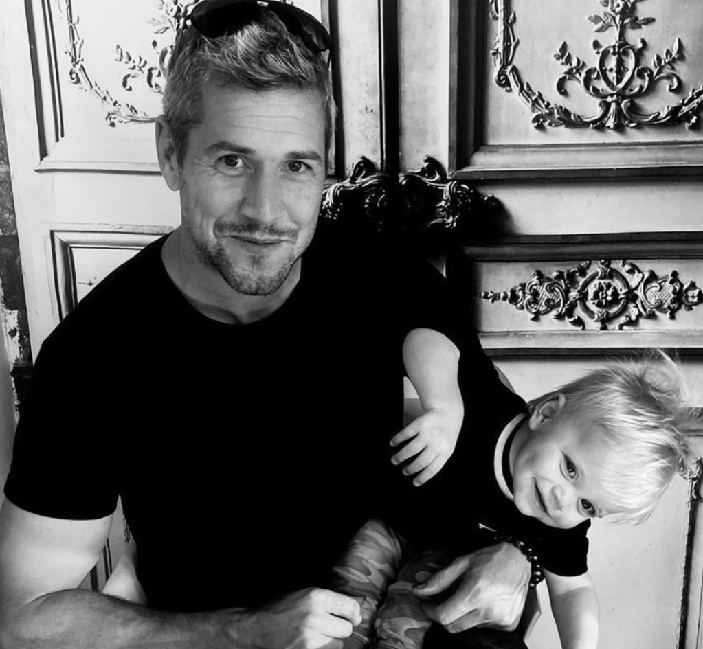 Ant Anstead Photo With Hudson