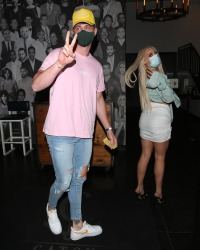 Tana Mongeau Steps Out With Too Hot to Handle's Harry Jowsey in West Hollywood