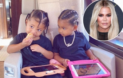 True Thompson Enjoys Playtime at Cousin Stormi Webster's Playhouse in Sweet Footage From Mom Khloe Kardashian