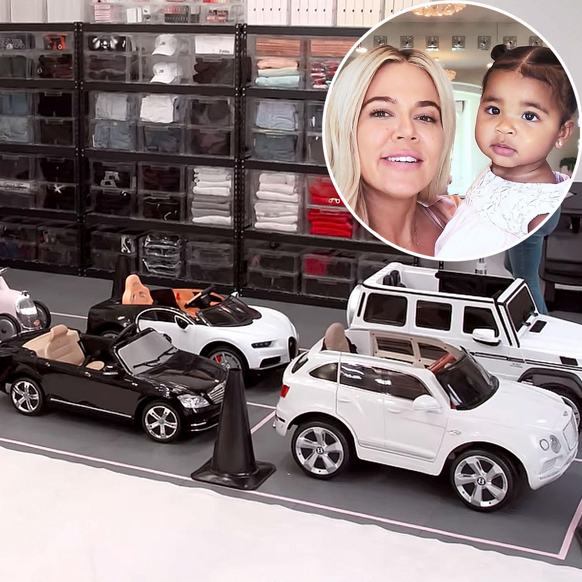 Khloe Kardashian On The Home Edit Garage Makeover Photos