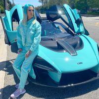 Jeffree Star Car Collection Blue McLaren