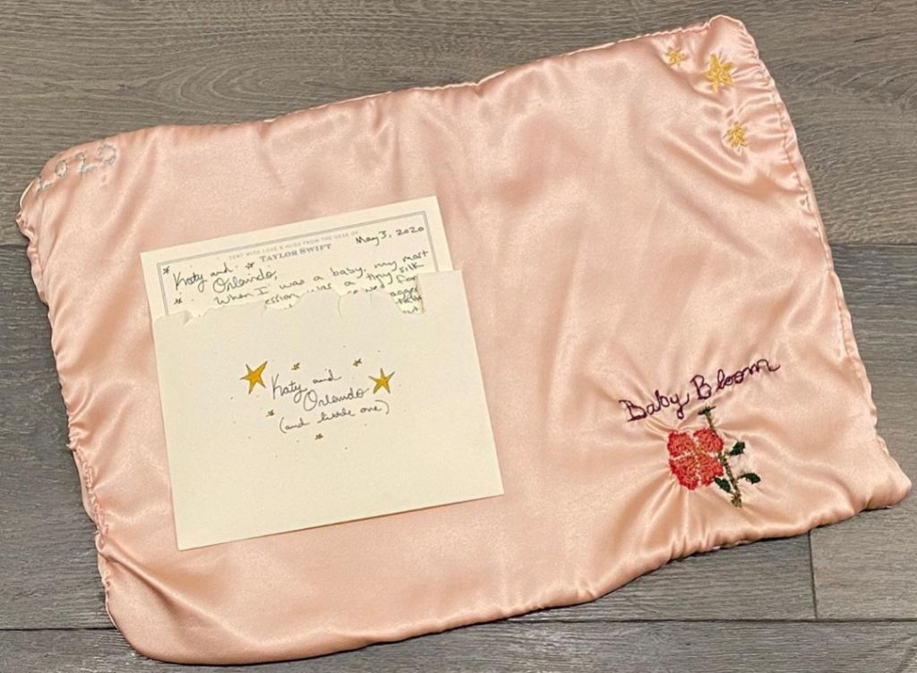 Taylor Swift Sends Katy Perry a Blanket for Baby Daughter Daisy Dove