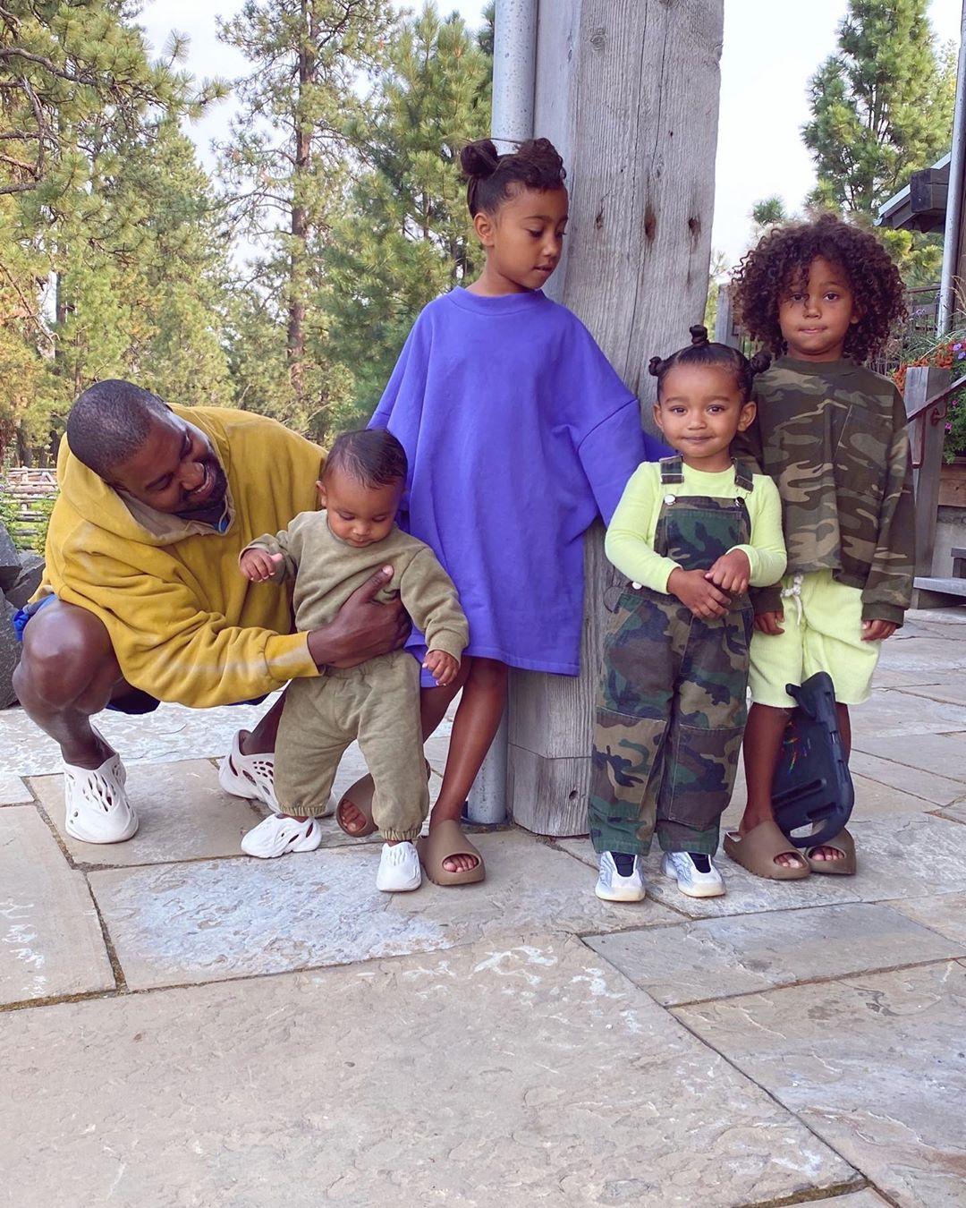 Kim Kardashian Shares Precious Photos of Her 4 Kids