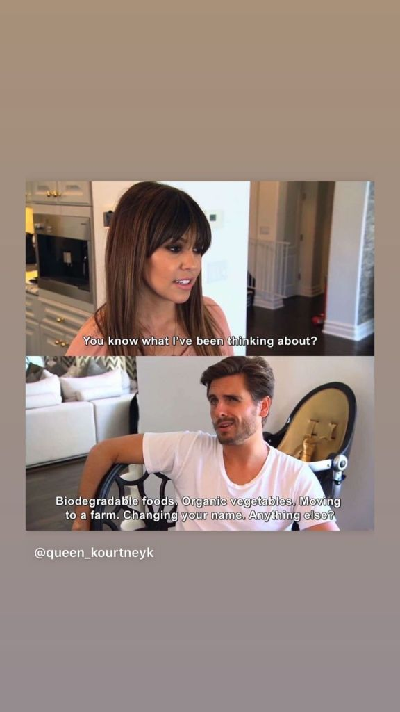 Kourtney Kardashian Teases Romance Rumors With Scott Disick By Sharing Cute Throwback 'KUWTK' Photo