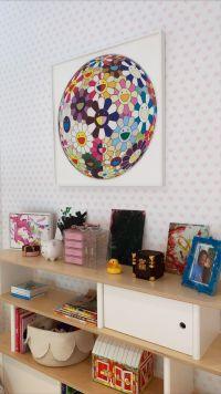 Kylie Jenner Home Takashi Murakami Art