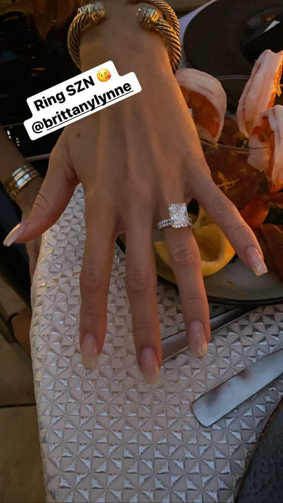 Patrick Mahomes and Brittany Matthews Engagement Ring Details