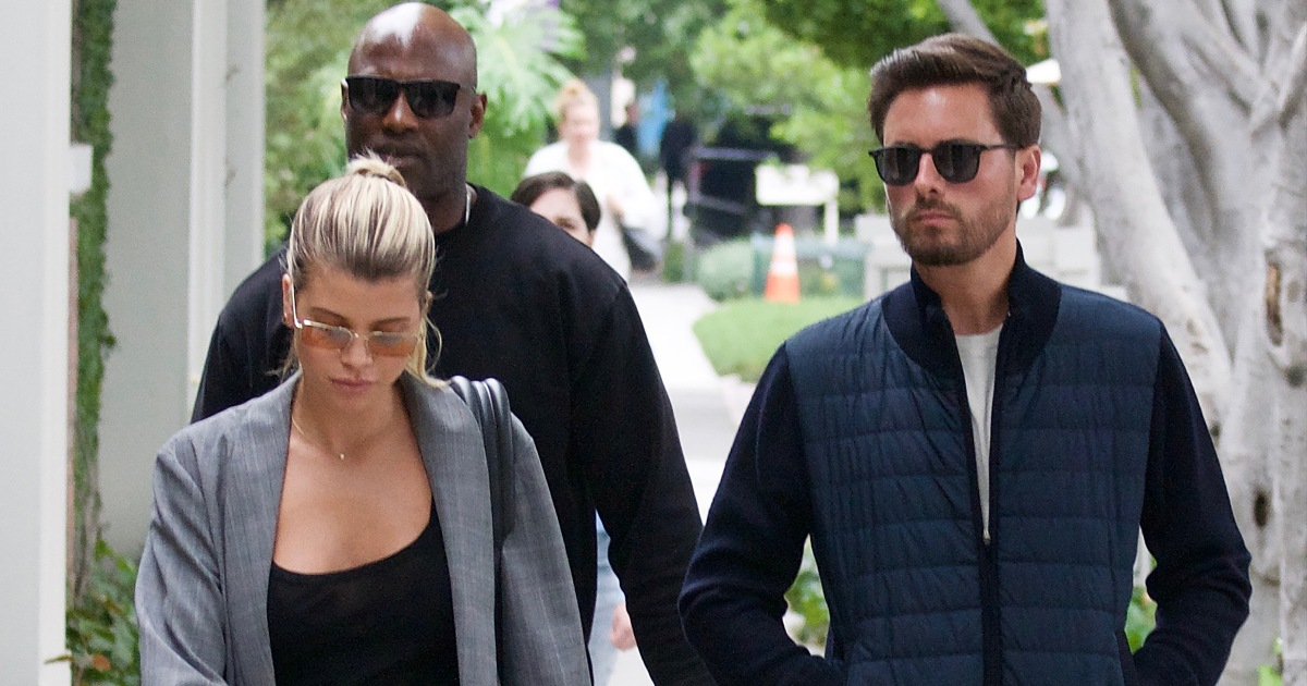 Friendly Exes? Scott Disick Comments on Sofia Richie's Rosh Hashanah Post