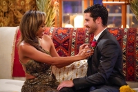 Bachelorette First Impression Rose Winner Tayshia Adams and Spencer