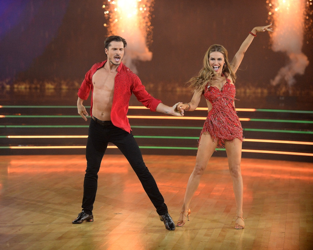 Who Went Home on Dancing With the Stars November 2 Week 8 GLEB SAVCHENKO, CHRISHELL STAUSE