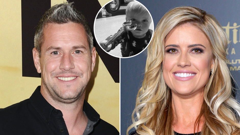Ant Anstead Calls Son Hudson His 'Little Mechanic' Amid Split From Wife Christina